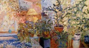 October at Gallery A3 Paintings by Evelyn Pye, Cello concert by Jennifer Allen