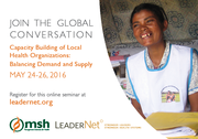 Online Seminar on Capacity Building of Local Health Organizations