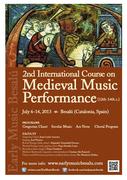 2nd International Course on Medieval Music Performance – Besalú 2013