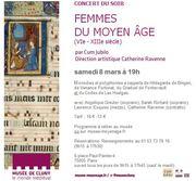 FEMMES DU MOYEN ÂGE Ensemble CUM JUBILO
