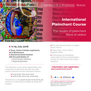 International Plainchant Course