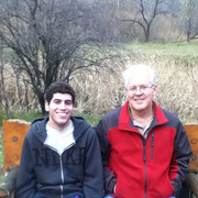 #dad and #me in #schmeeckle #nature  #reserve #parents #trees #college #collegelife #uni #university #uwsp #wisconsin #wi #stevenspoint