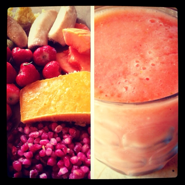Smoothie today