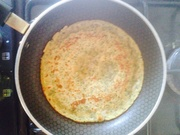 Getting better chickpea pancake