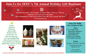SEEC's 7th Annual Holiday Gift Boutique