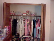 the top of my closet cleaned out