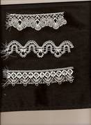 Cluny Lace Samples
