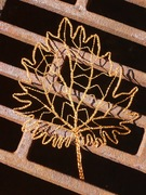 Copper wire leaf