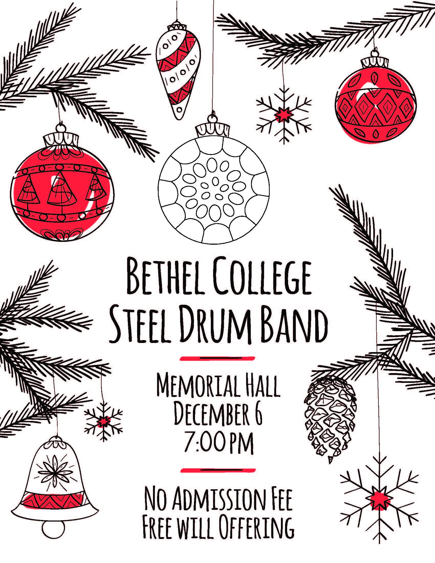 Bethel Christmas Concert Program 2018