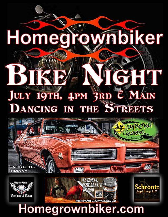 July Bike Night Dancing Streets 50%