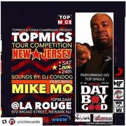 @topmics June 2017 Newark NJ Show Ft 2x Showcase Winner Mike Moet