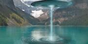 Ilustração-de-OVNI-sobre-reservatório-de-água-na-Argentina
