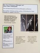 PERFORMANCE PHILOSOPHY CONFERENCE, PRAGUE 2017, WORKSHOP
