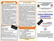 Curso intensivo en 4 módulos de Nueva Medicina Germánica