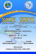 XXVI Congreso Centroamericano y El Caribe de Medicina Interna y al XXIV Congreso Nacional de Medicina Interna