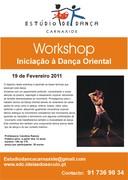DANÇA: Workshop de Iniciação à Dança Oriental com Carolina Ramos