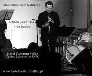 """""""Momentos com Natureza..."""" Belinha Jazz Trio-Hotel Castrum Villae"""