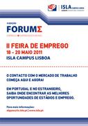 OUTROS: Forum de Emprego