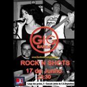 MÚSICA: Banda Gig ao vivo no Rock n Shots