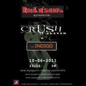 MÚSICA: Crush Eleven e The Indigo ao vivo no Rock n Shots