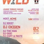 FESTAS: Wild Sunset&Night Party @ Lounge Terrace Cascais