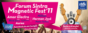 Aurea e Amor Electro no Forum Sintra Magnetic Fest'11