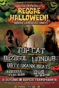 NOITE: Reggae Halloween | Top Cat (Uk) + Liondub (NYC) + Bezegol (PT)