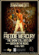 NOITE: Freddie Mercury 20 Anos Depois - The Show Still Goes On - Tributo a Queen