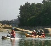 Canoagem no  Rio Dão