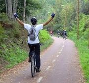 AR LIVRE: Ecopista do Dão em bicicleta