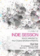 NOITE: INDIE SESSIONS by Artur Durand (INDIEemFRENTE)