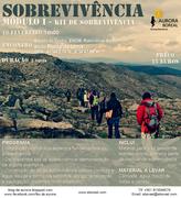 AR LIVRE: Workshop de Sobrevivência - Módulo I - o Kit de Sobrevivência