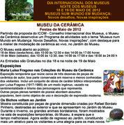 Dia Internacional dos Museus e Noite dos Museus - Museu da Cerâmica