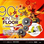 NOITE: LAB the Lost Floor - 90´s on the Floor