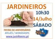 CRIANÇAS: Oficina de jardinagem para pais e filhos