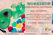 WORKSHOP: Sabonetes Naturais