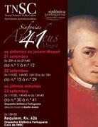 MÚSICA: 41 Sinfonias de Wolfgang Amadeus Mozart