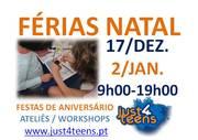CRIANÇAS: Oficinas Férias Escolares de Natal 2012