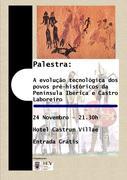 PALESTRA: Uma Viagem no Tempo