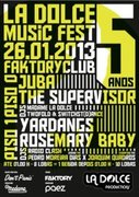 MÚSICA:  La Dolce 5 Music Fest