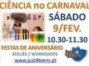 CRIANÇAS: Vamos brincar ao Carnaval usando Ciência!