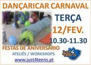 CRIANÇAS: Vamos brincar a dançar ao Carnaval