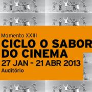 CINEMA: Ciclo Sabor do Cinema