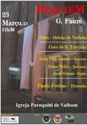 MÚSICA: REQUIEM, de Gabriel Fauré