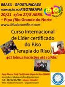 Brasil, Certificação Internacional em Risoterapia, Abril 2013