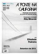 TEATRO: A Ponte na Califórnia
