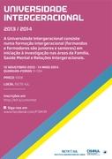 FORMAÇÃO: Universidade Intergeracional 2013/2014