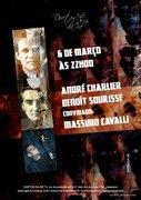 MÚSICA: André Charlier & Benoît Sourisse, convidado: Massimo Cavalli