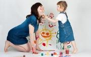VAMOS PINTAR A BRINCAR COM A MAMÃ (+6M) - Especial Dia da Mãe