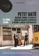 MÚSICA: PETIT GATÔ - Ricardo Torres, Marlon Valente & Pedro F. Sousa